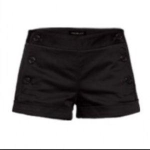 Aritizia Talula Black anchor shorts